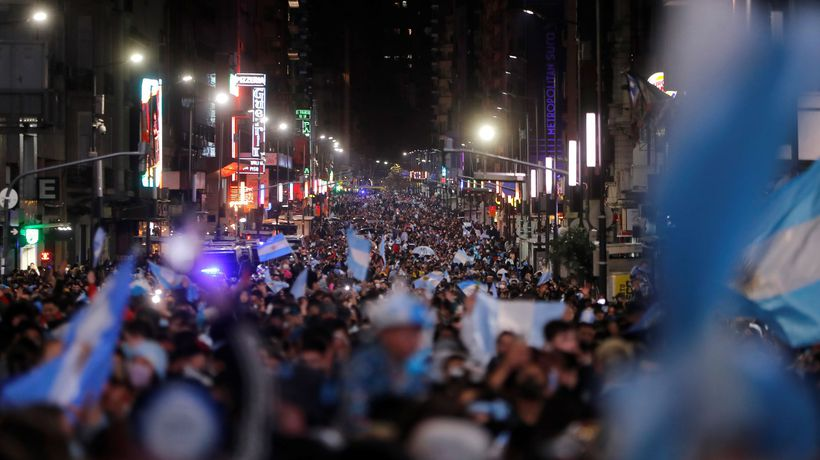 Buenos Aires erupts as Argentina beat Brazil in Copa América final