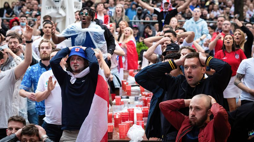 'Absolutely gutted': England fans devastated after Italy win Euro 2020