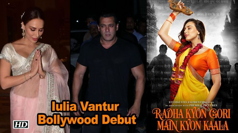 Salman's rumored Girlfriend Iulia's Bollywood Debut First Look Out