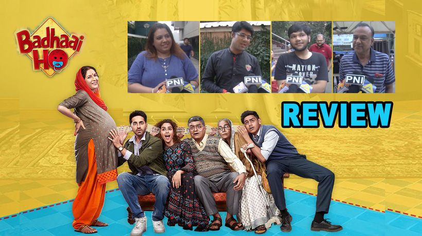 Badhaai Ho Public Review | Ayushmann's Pregnant mom gets a Thumbs Up
