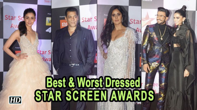 Best & Worst Dressed at the STAR SCREEN AWARDS