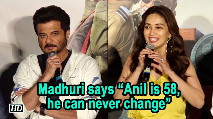 Madhuri says Anil is 58 now, he can never change | Total Dhamaal