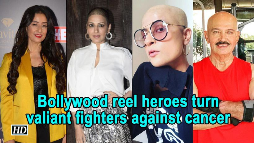 Bollywood reel heroes turn valiant fighters against cancer