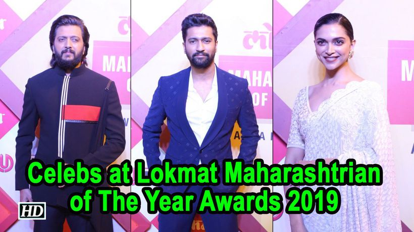 Celebs at Lokmat Maharashtrian Of The Year Awards 2019