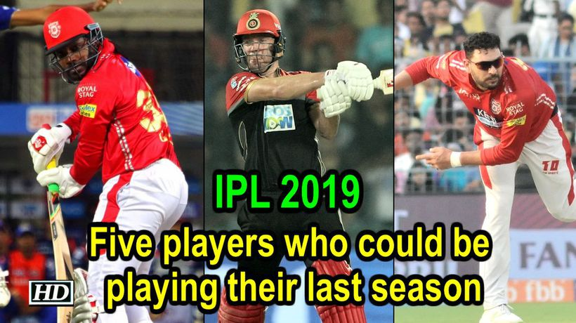 IPL 2019 5 players who could be playing their last season