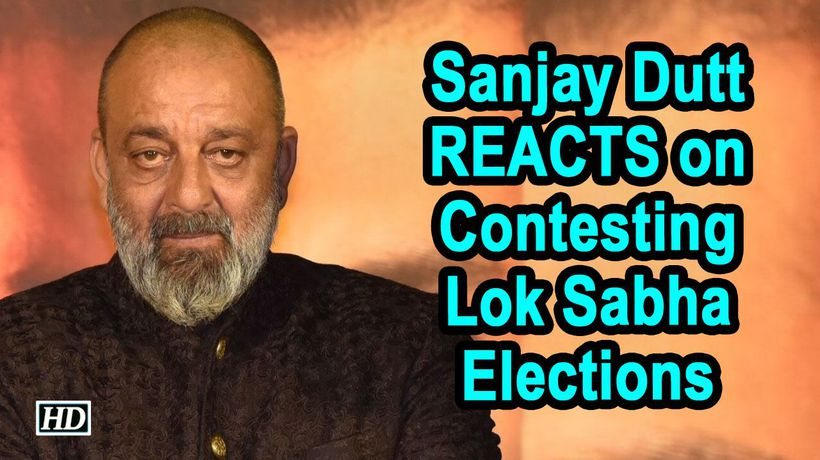 Sanjay Dutt REACTS on Contesting Lok Sabha Elections