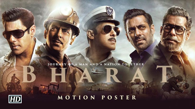 BHARAT Motion Poster Salmans JOURNEY on EID