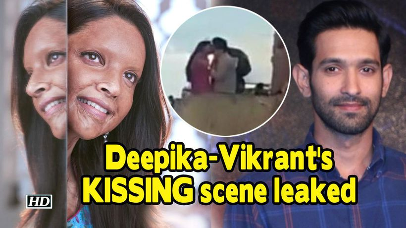 DeepikaVikrants KISSING scene gets leaked CHHAPAAK
