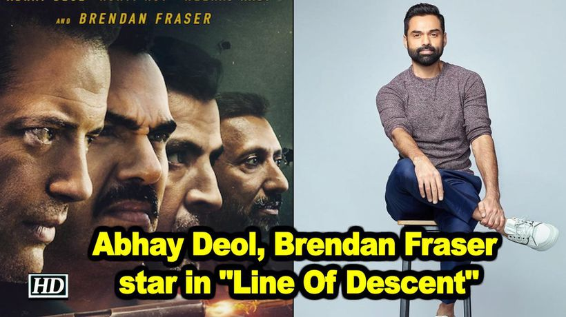 Abhay deol brendan fraser star in line of descent