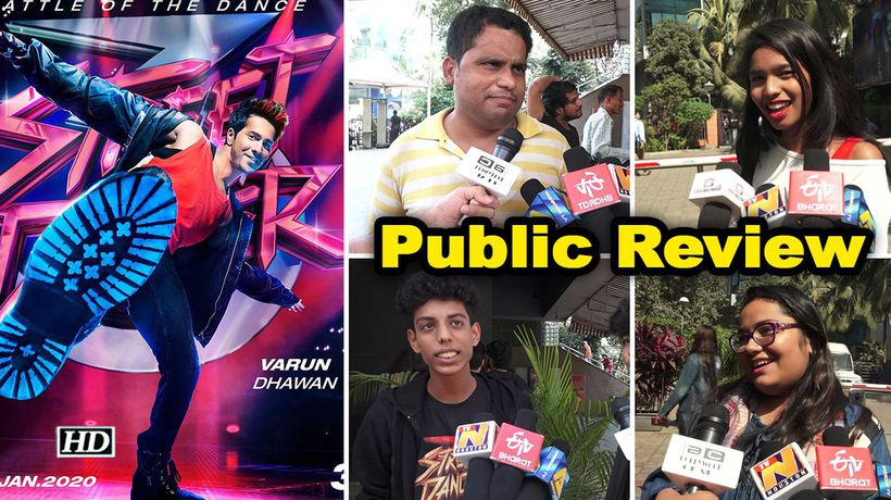 Public review street dancer 3d varun shraddha starrer dance film