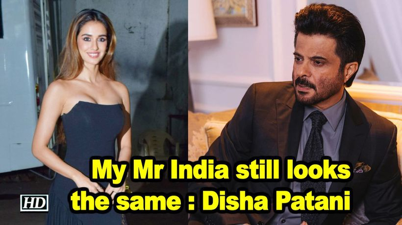 Disha patani on anil kapoor my mr india still looks the same