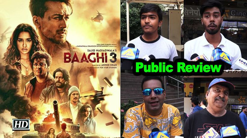Public Review Baaghi 3