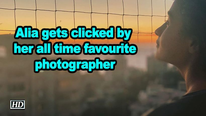 Alia gets clicked by her all time favourite photographer