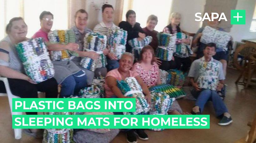 This PE care centre turns plastic bags into sleeping mats for homeless