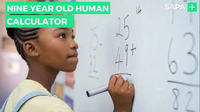 This nine year old is a human calculator
