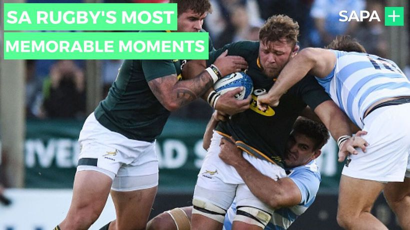 SA Rugby's most memorable moments in Rugby World Cup history