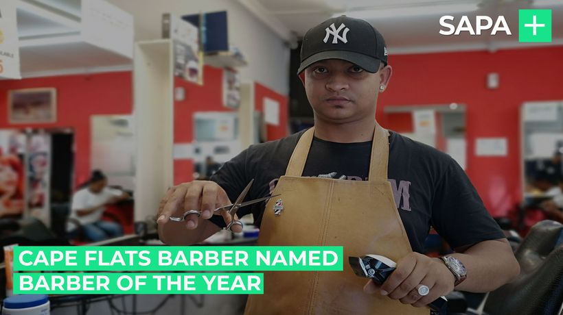 Cape Flats barber crowned SA's Barber of the Year