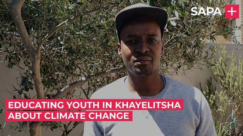 Athenkosi Baba, empowering youth in Khayelitsha against climate change