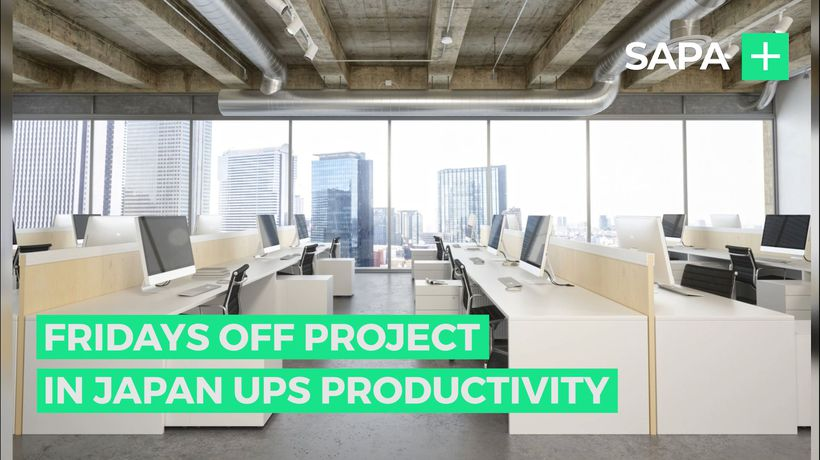 Fridays off at Microsoft Japan boost productivity by 40%