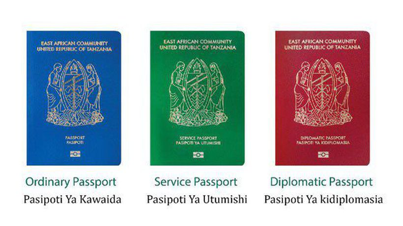 Old passports in Tanzania no longer allowed