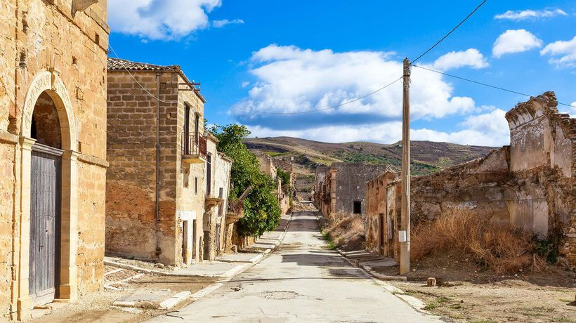 The Sicilian Town Frozen in Time