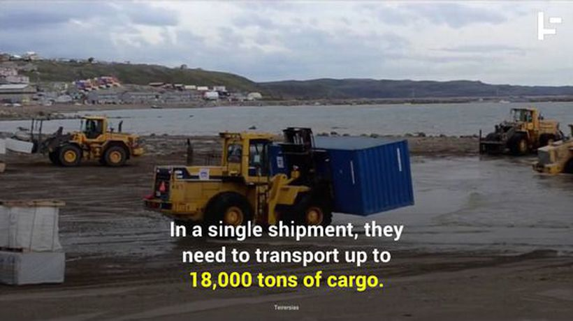 Sealift: The Annual Food and Supply Line to Arctic Communities