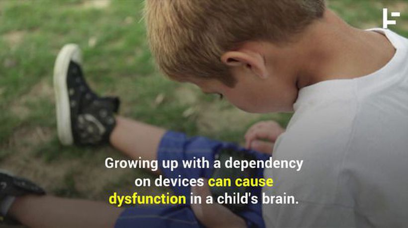 Staring at Screens Seriously Hurts Your Child's Development