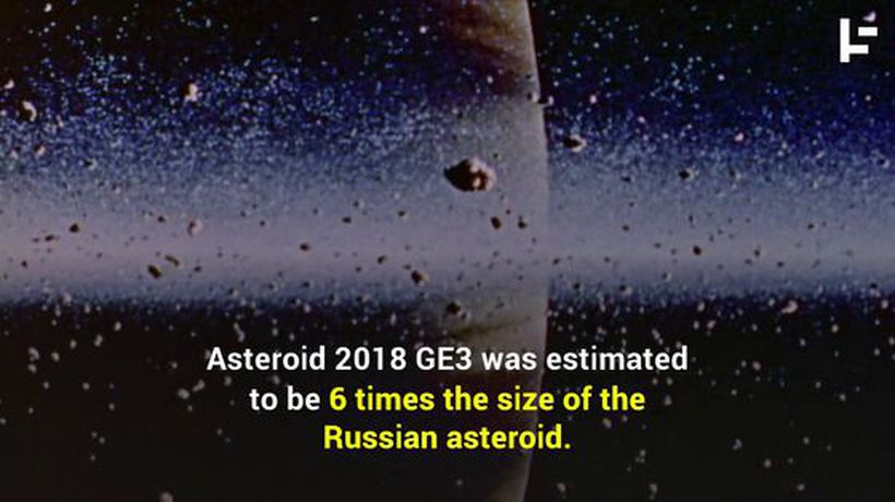 A Huge Asteroid Missed Earth and No One Saw it Coming