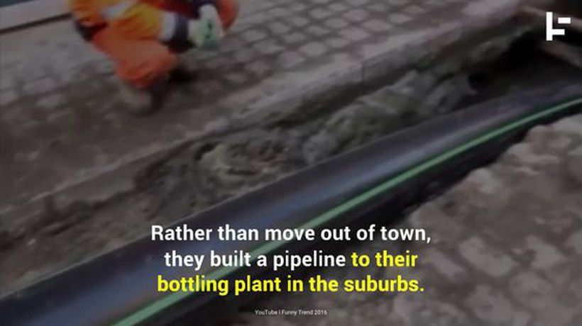 This Little Town Built The World's First Beer Pipeline