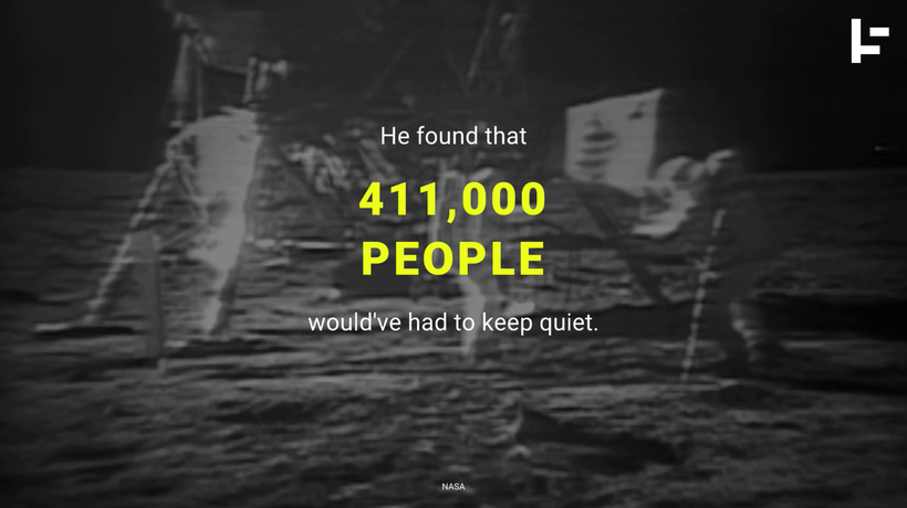 To Fake a Moon Landing, You'd Need 400,000 People to Keep Quiet
