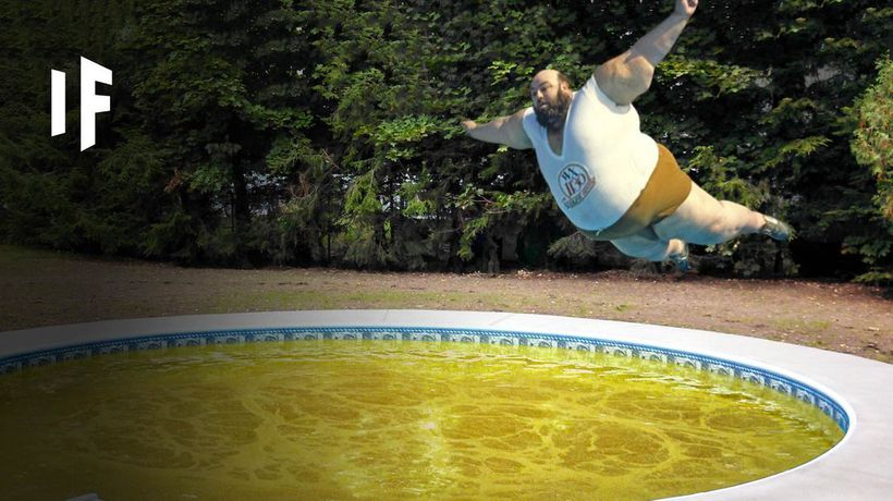 What Happens If You Jumped Into a Pool Full of Stomach Acid?