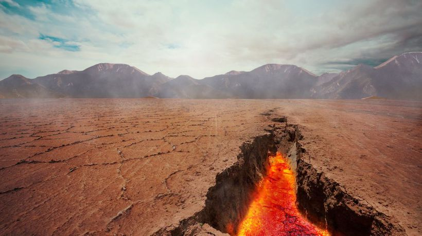 What If the Earth's Crust Suddenly Opened Up?