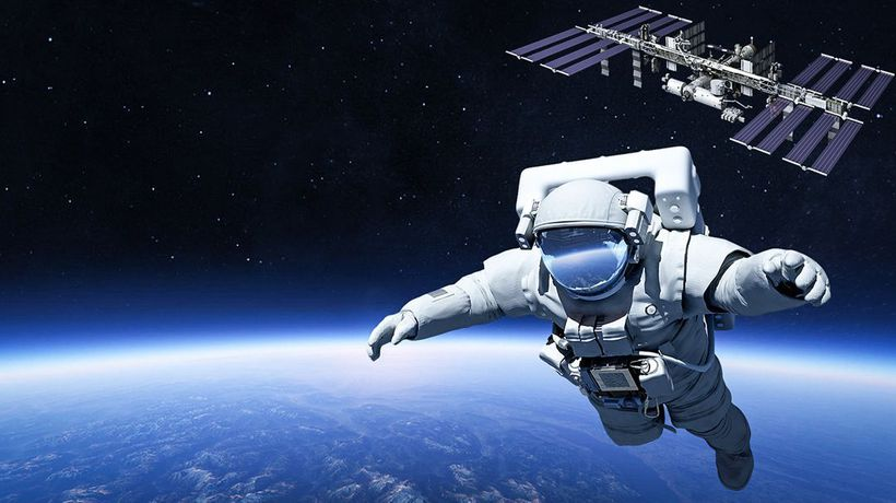 What If You Skydived From the ISS?