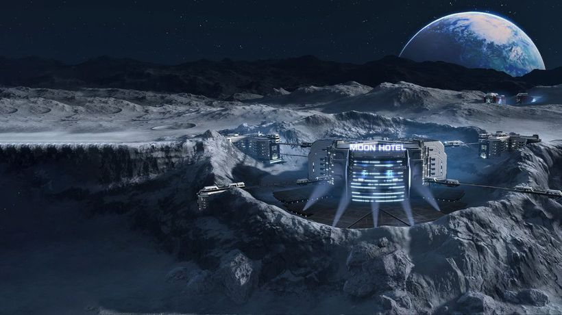 What If We Built Cities on the Moon?