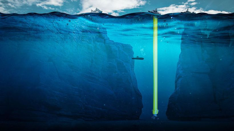 What If You Built a Pipe to the Bottom of the Mariana Trench?