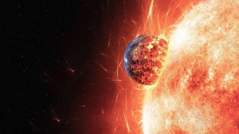 What If the Sun Swallowed Earth?