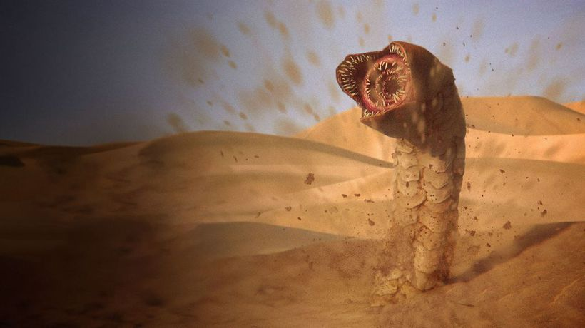 What If Sandworms Were the Size of Humans?