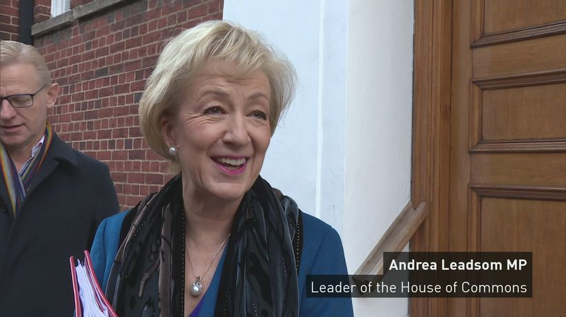 Leadsom confident of good Brexit deal