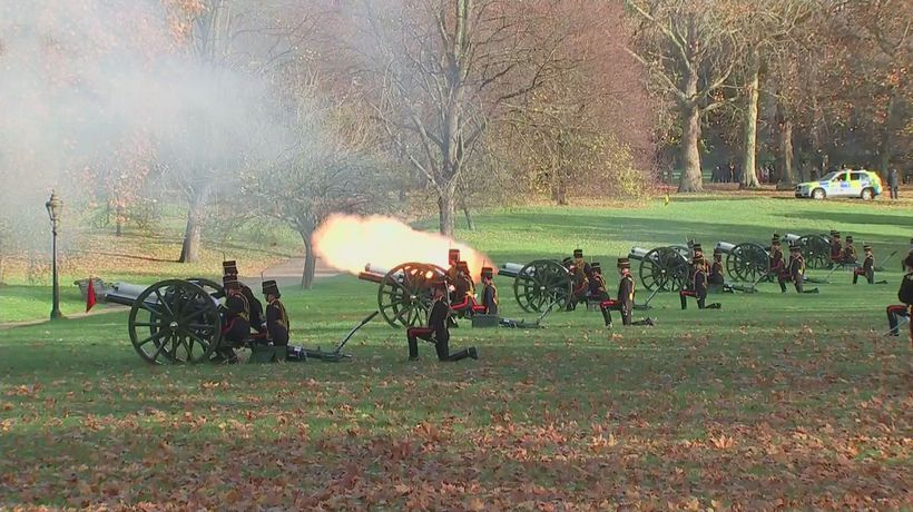 Prince Charles' 70th birthday marked with royal gun salute