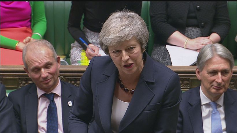 Theresa May defends Brexit plans: 'We will protect the intre