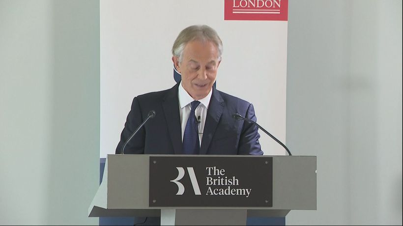 Tony Blair: PM's Brexit deal is a 'capitulation'