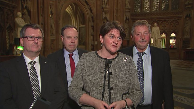 Arlene Foster: 'DUP can't support Brexit deal that breaks up