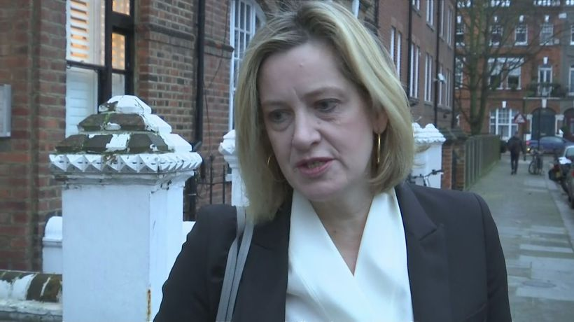 Amber Rudd: 'Nothing would be worse than a Corbyn government