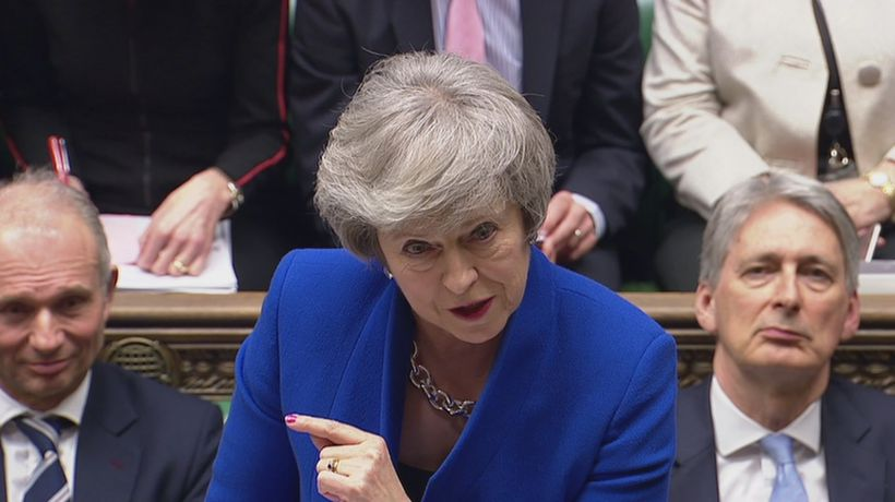 Theresa May: This government will not revoke article 50