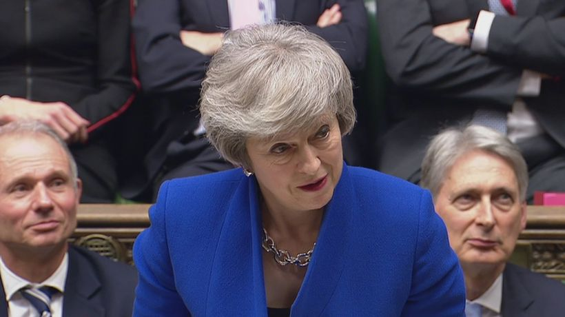 May: A general election is the 'worst thing we could do'