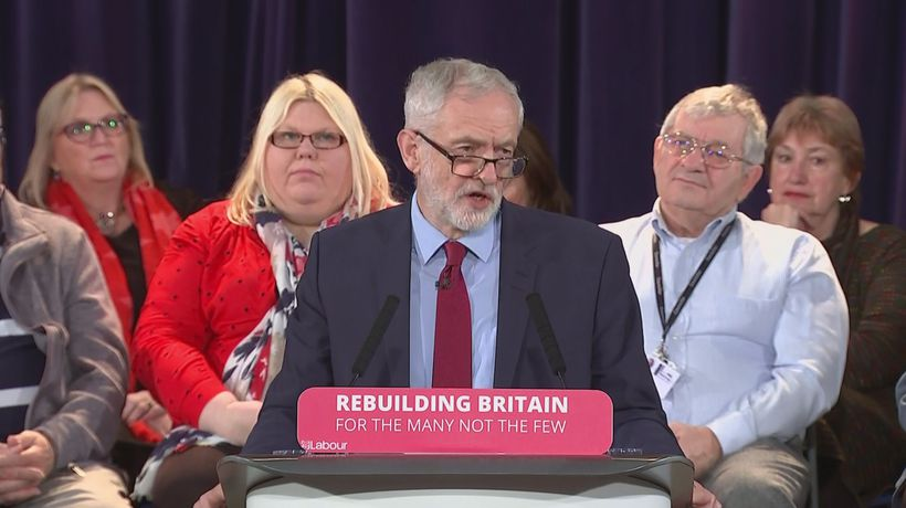 Corbyn calls on May to 'take no-deal off the table'