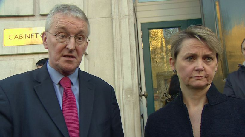 Brexit Select Committee Chair Hilary Benn meets ministers