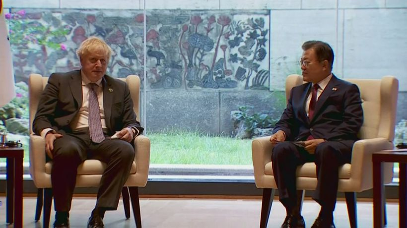 Johnson encourages climate action from S.Korea at bilateral