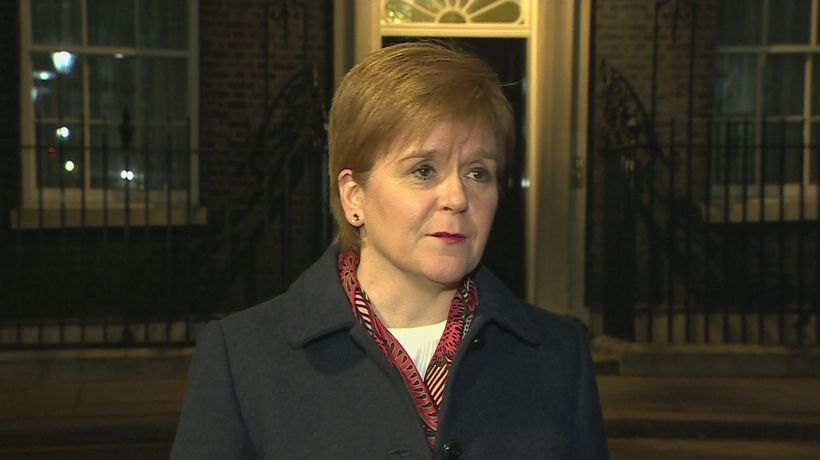Sturgeon: May is 'running scared' of new referendum