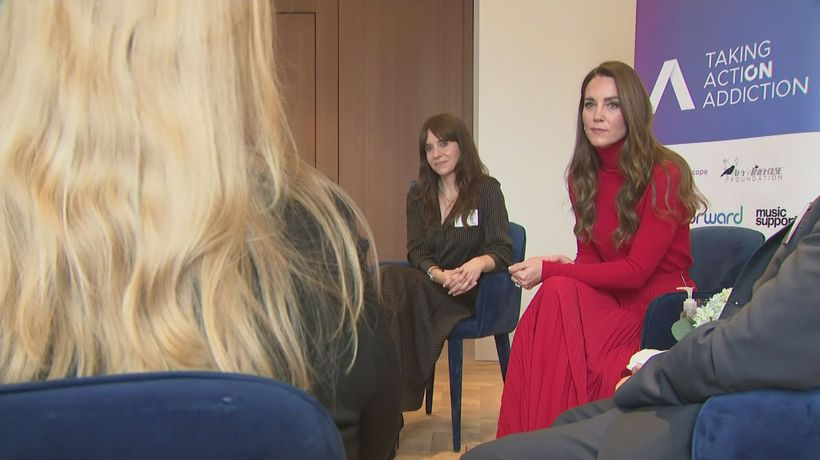 Kate calls for compassion towards those fighting addiction